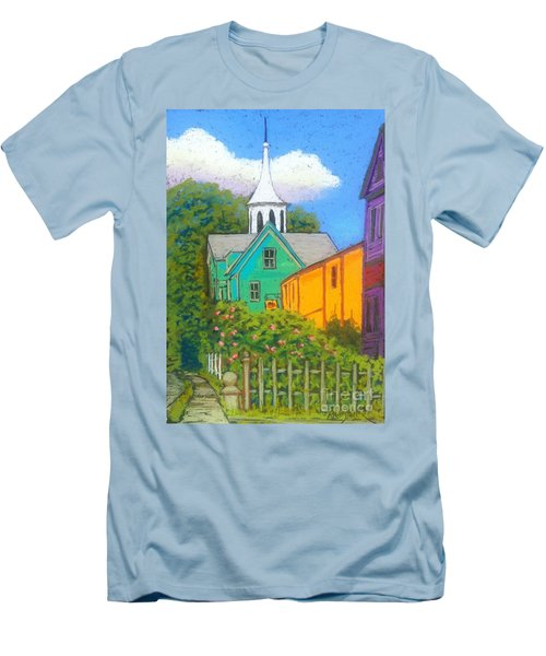 St.george Street  Men's T-Shirt (Slim Fit) by Rae  Smith