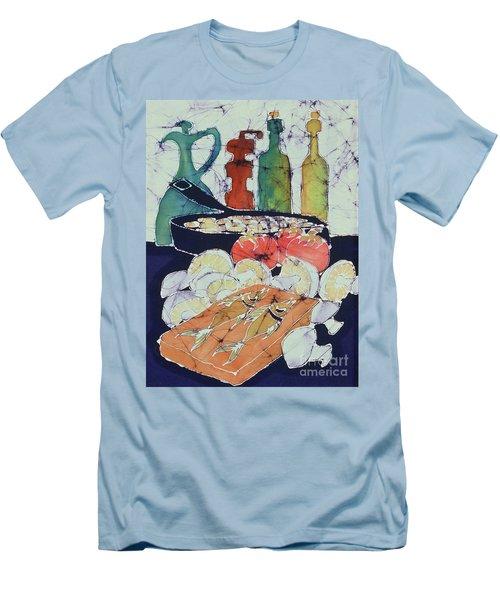 Still Life With Blues Men's T-Shirt (Slim Fit)