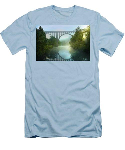 Still Standing Men's T-Shirt (Slim Fit) by Rob Blair