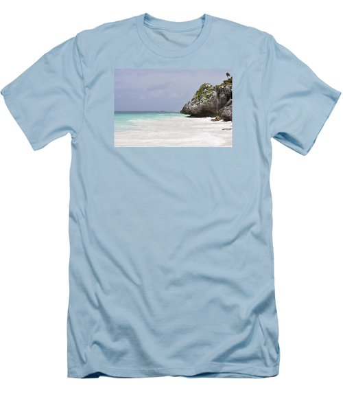 Men's T-Shirt (Slim Fit) featuring the photograph Stone Turtle by Glenn Gordon