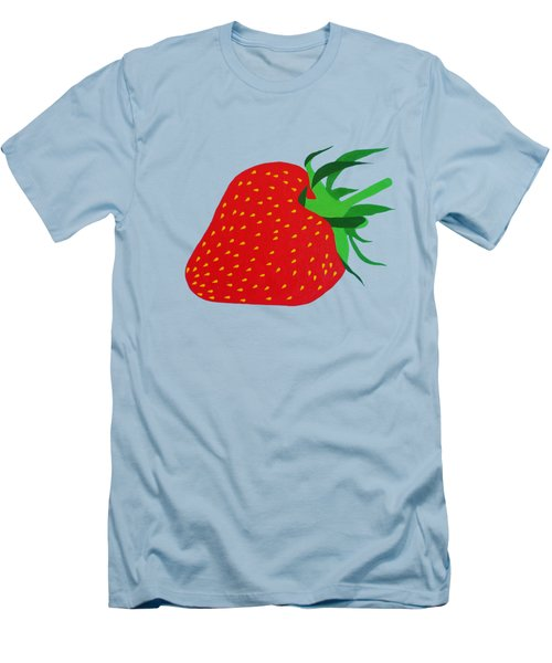 Strawberry Pop Remix Men's T-Shirt (Athletic Fit)