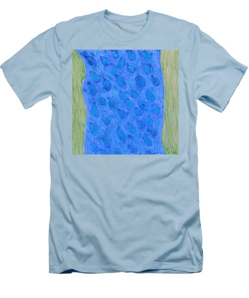 Stream Of Blessings Men's T-Shirt (Slim Fit)