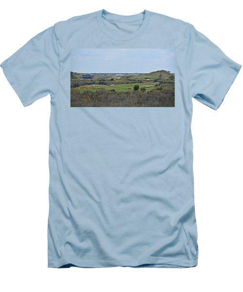 Streamsong Golf Course Men's T-Shirt (Slim Fit) by Carol  Bradley