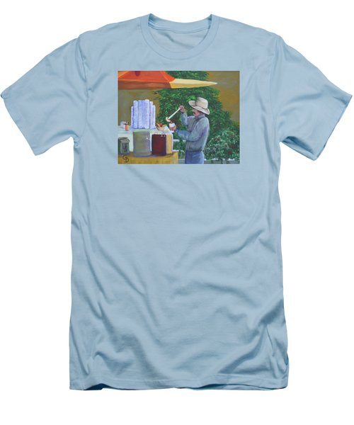 Street Vendor Men's T-Shirt (Slim Fit)