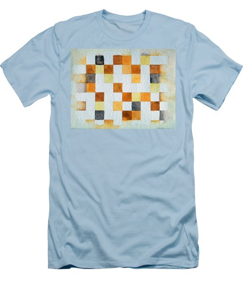 Study In Yellow And Gold Men's T-Shirt (Athletic Fit)