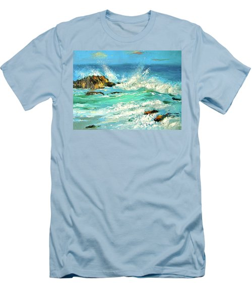 Study Wave Men's T-Shirt (Athletic Fit)