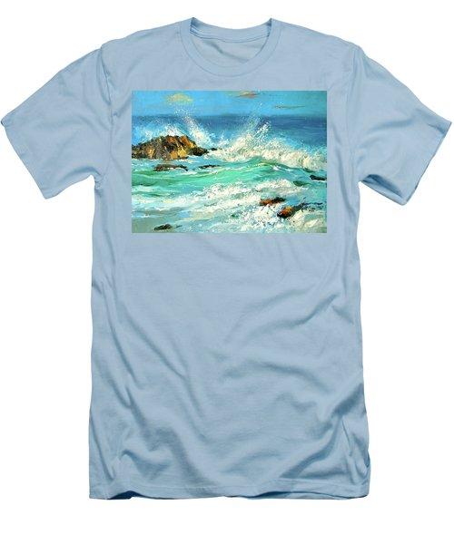 Study Wave Men's T-Shirt (Slim Fit)