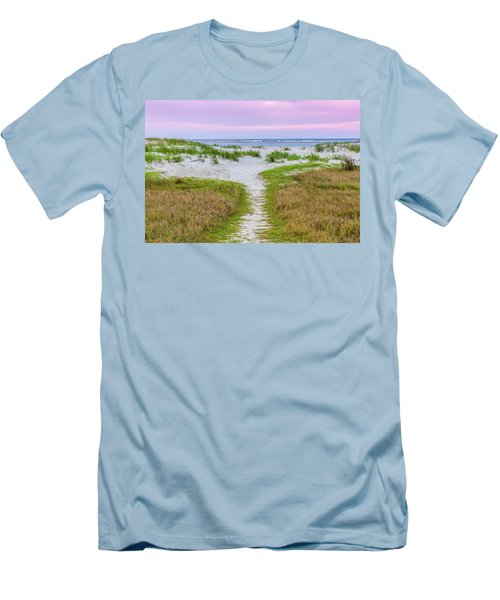 Sullivan's Island Natural Beauty Men's T-Shirt (Athletic Fit)