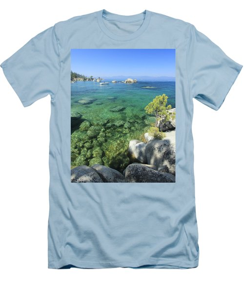 Men's T-Shirt (Athletic Fit) featuring the photograph Summer Days  by Sean Sarsfield