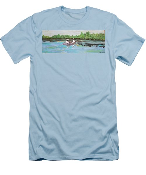 Summer Rowing Men's T-Shirt (Athletic Fit)