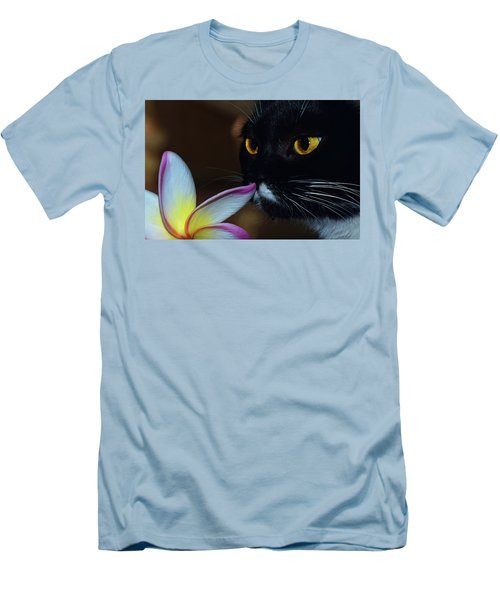 Summer Sniffing Plumaria Men's T-Shirt (Athletic Fit)