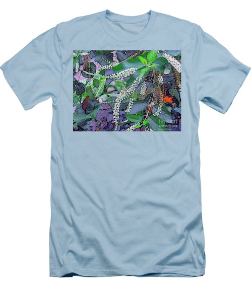 Summer White Men's T-Shirt (Slim Fit) by Kathie Chicoine