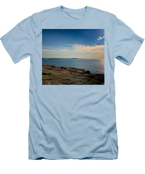 Sun Flare Men's T-Shirt (Athletic Fit)