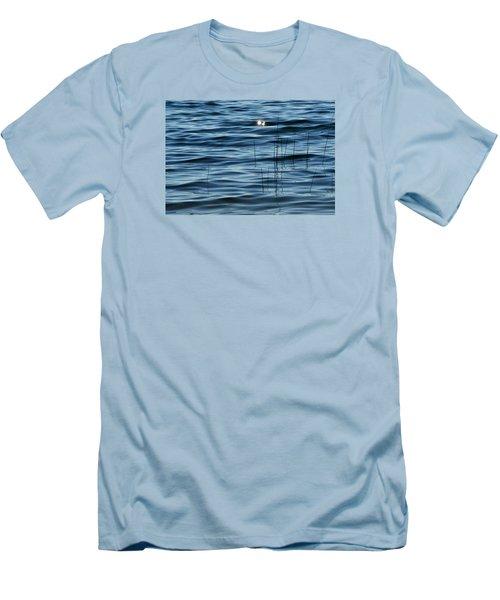 Men's T-Shirt (Slim Fit) featuring the photograph Sun Glints 2  by Lyle Crump