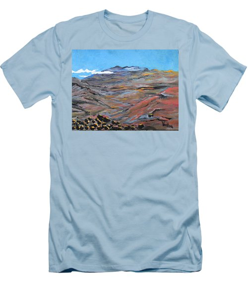 Sun Salutation At Haleakala Men's T-Shirt (Athletic Fit)
