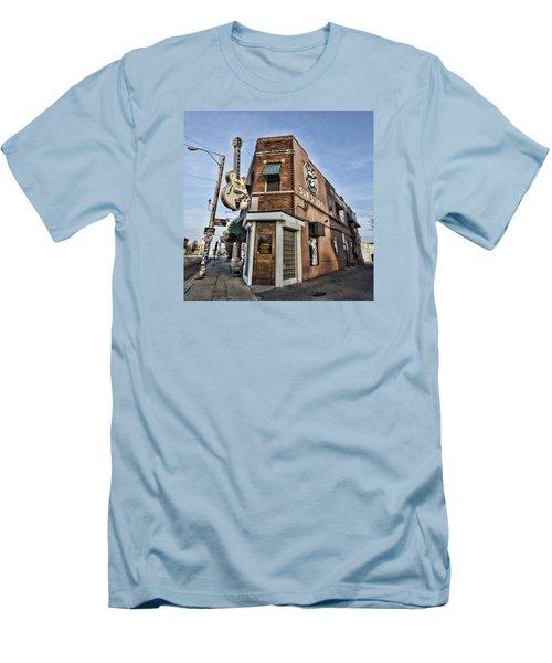 Sun Studio - Memphis #1 Men's T-Shirt (Athletic Fit)