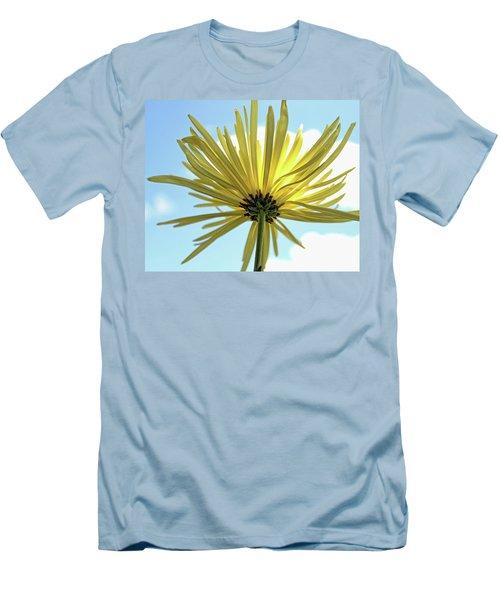 Men's T-Shirt (Slim Fit) featuring the photograph Sunburst by Judy Vincent