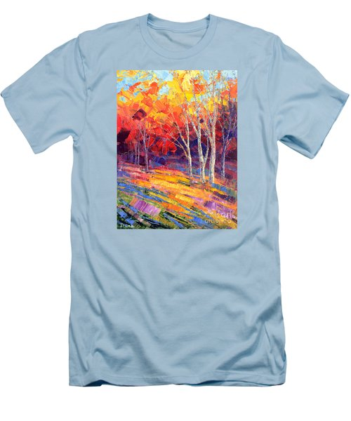 Sunlit Shadows Men's T-Shirt (Athletic Fit)