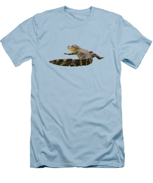 Sunning On The Shore Men's T-Shirt (Athletic Fit)