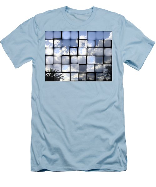 Men's T-Shirt (Slim Fit) featuring the photograph Sunny Sky by Christina Verdgeline