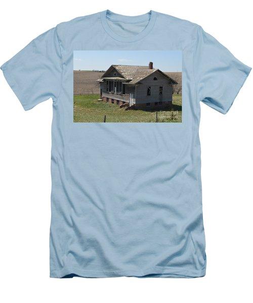 Sunnyside Dist #35 Men's T-Shirt (Slim Fit) by Renie Rutten