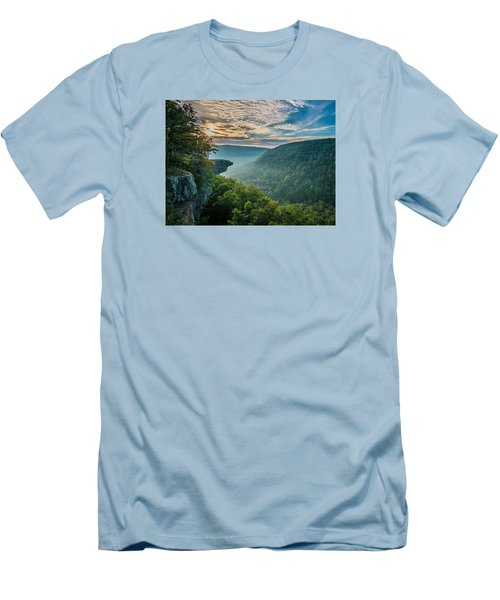 Sunrise At Hawksbill Crag Men's T-Shirt (Athletic Fit)
