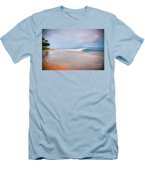 Sunrise Break Men's T-Shirt (Slim Fit) by Kelly Wade