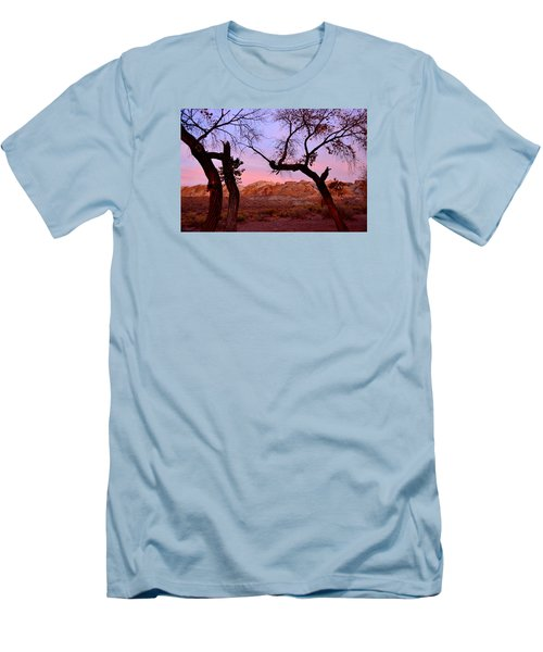 Sunset At The Swell Men's T-Shirt (Athletic Fit)