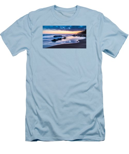 Sunset Shine Men's T-Shirt (Athletic Fit)
