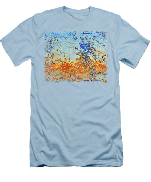 Sunset Walk Men's T-Shirt (Slim Fit) by Sami Tiainen