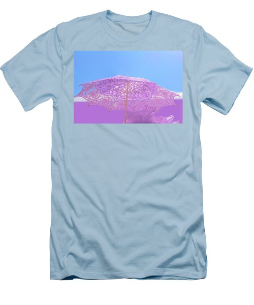 Sunshade In Pastel Color Men's T-Shirt (Athletic Fit)