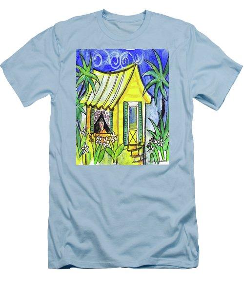Sunshine Cottage Men's T-Shirt (Slim Fit)