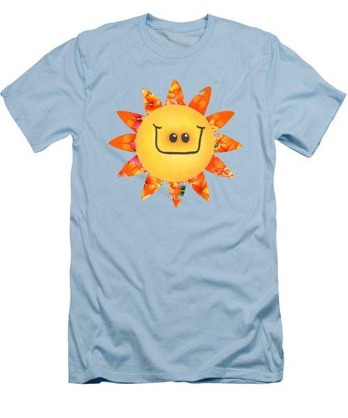 Sunshine Daisy Men's T-Shirt (Athletic Fit)