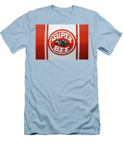 Men's T-Shirt (Slim Fit) featuring the photograph Super Bee Emblem by Mike McGlothlen