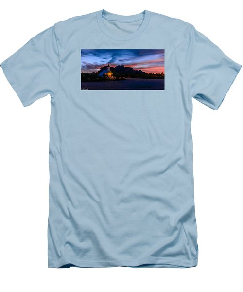 Superstition Sunrise Men's T-Shirt (Athletic Fit)