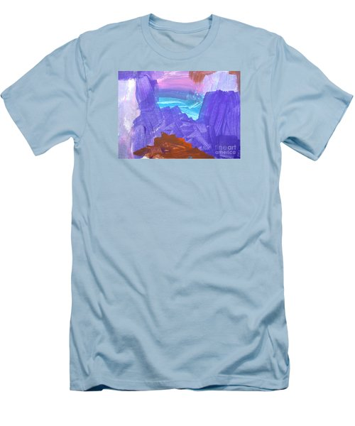 Surf By Hannah Men's T-Shirt (Slim Fit) by Fred Wilson