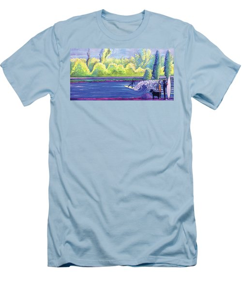 Surf Colorado Men's T-Shirt (Athletic Fit)