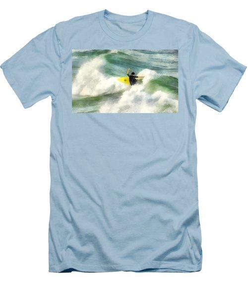 Surfer 76 Men's T-Shirt (Slim Fit) by Francesa Miller