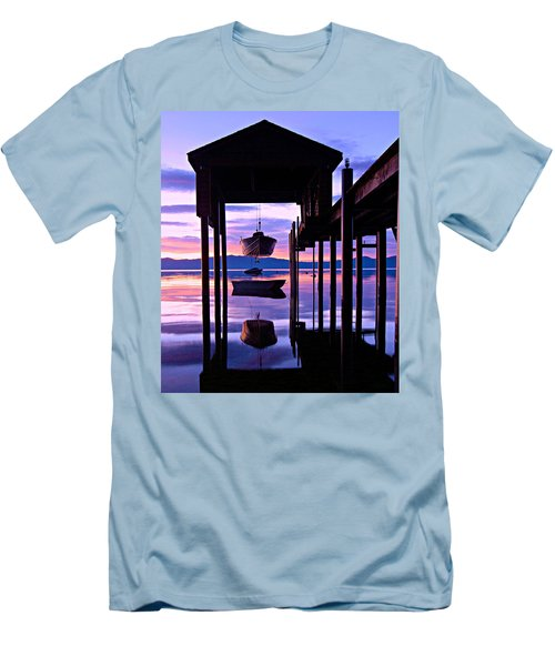 Men's T-Shirt (Athletic Fit) featuring the photograph Suspended Animation by Sean Sarsfield