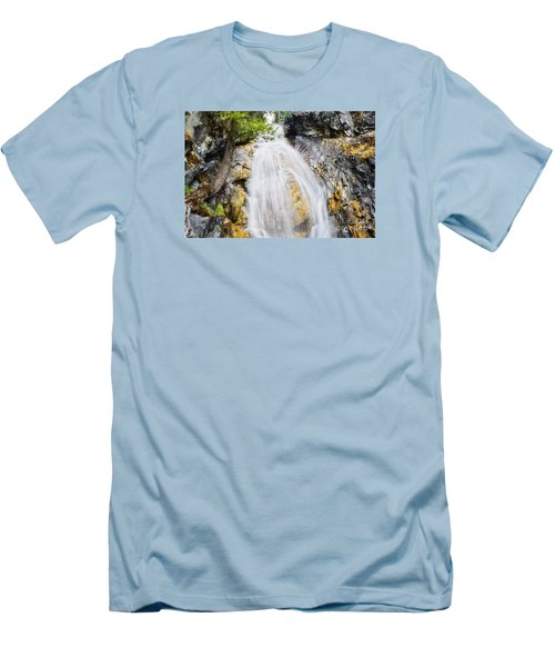 Men's T-Shirt (Slim Fit) featuring the photograph Sweet Surrender by Janie Johnson