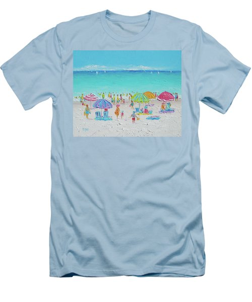 Sweet Sweet Summer Men's T-Shirt (Slim Fit) by Jan Matson