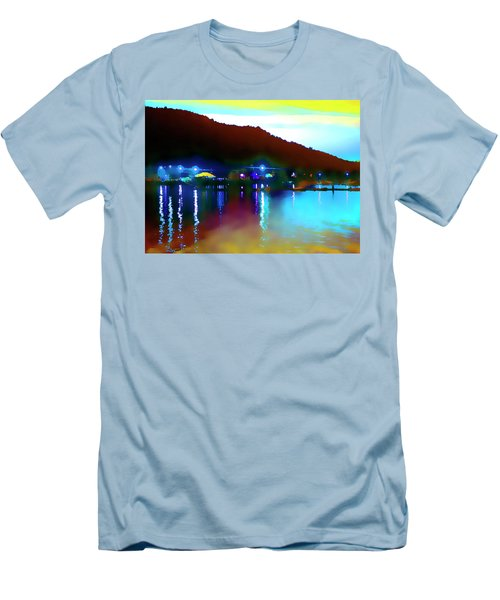 Symphony River Men's T-Shirt (Athletic Fit)