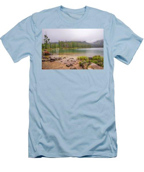 Taggert Lake Grand Teton Men's T-Shirt (Athletic Fit)