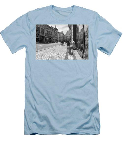 Taking A Nap Men's T-Shirt (Athletic Fit)