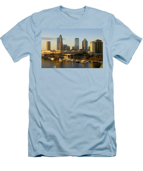 Tampa Bay And Gasparilla Men's T-Shirt (Athletic Fit)