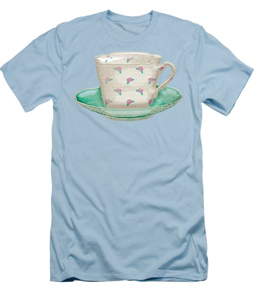 Teacup Garden Party 2 Men's T-Shirt (Athletic Fit)