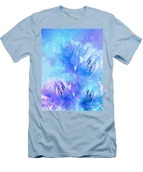 Men's T-Shirt (Slim Fit) featuring the digital art Tenderness by Klara Acel