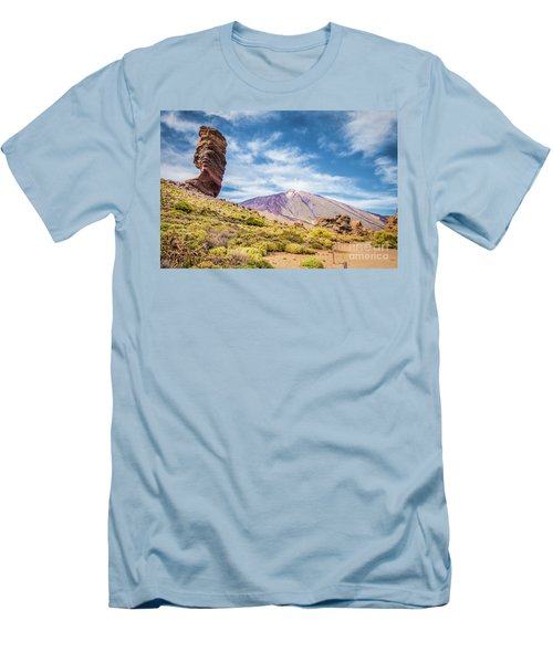 Tenerife Men's T-Shirt (Slim Fit) by JR Photography