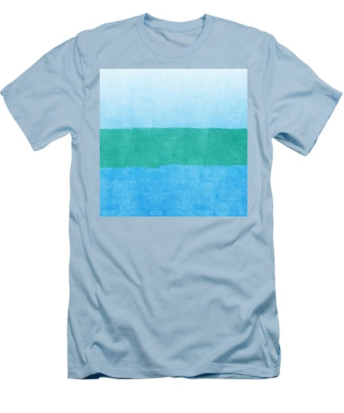 Test Men's T-Shirt (Slim Fit) by Linda Woods
