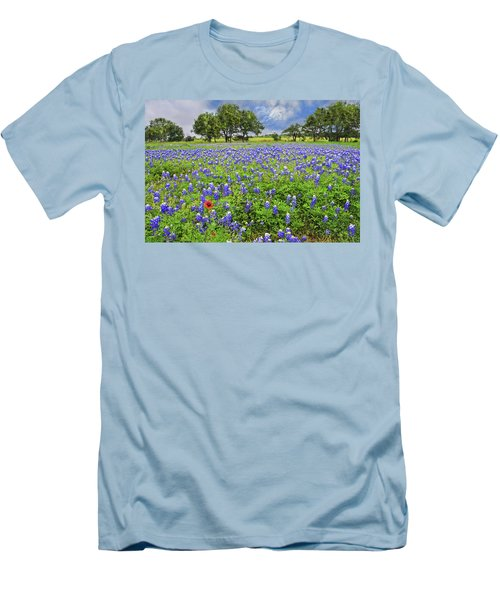 Texas Spring  Men's T-Shirt (Athletic Fit)